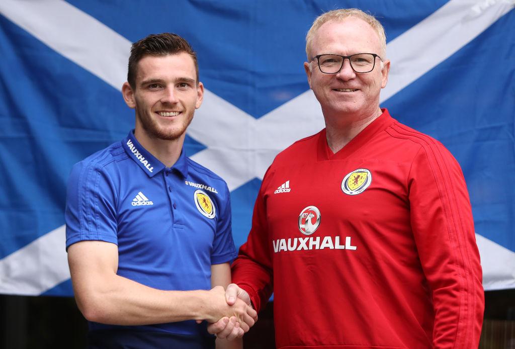 Andy Robertson Named Scotland Captain