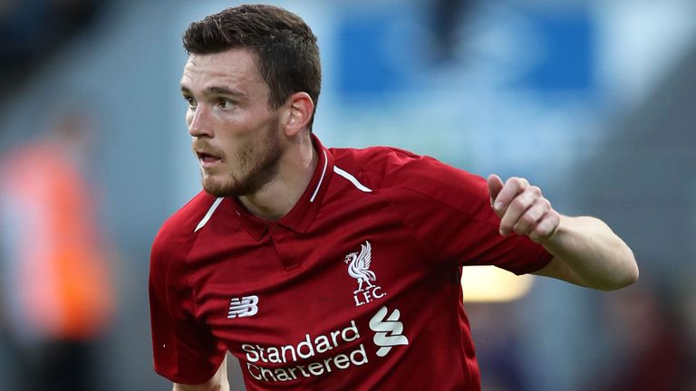 Andrew Robertson Offered New Liverpool Contract