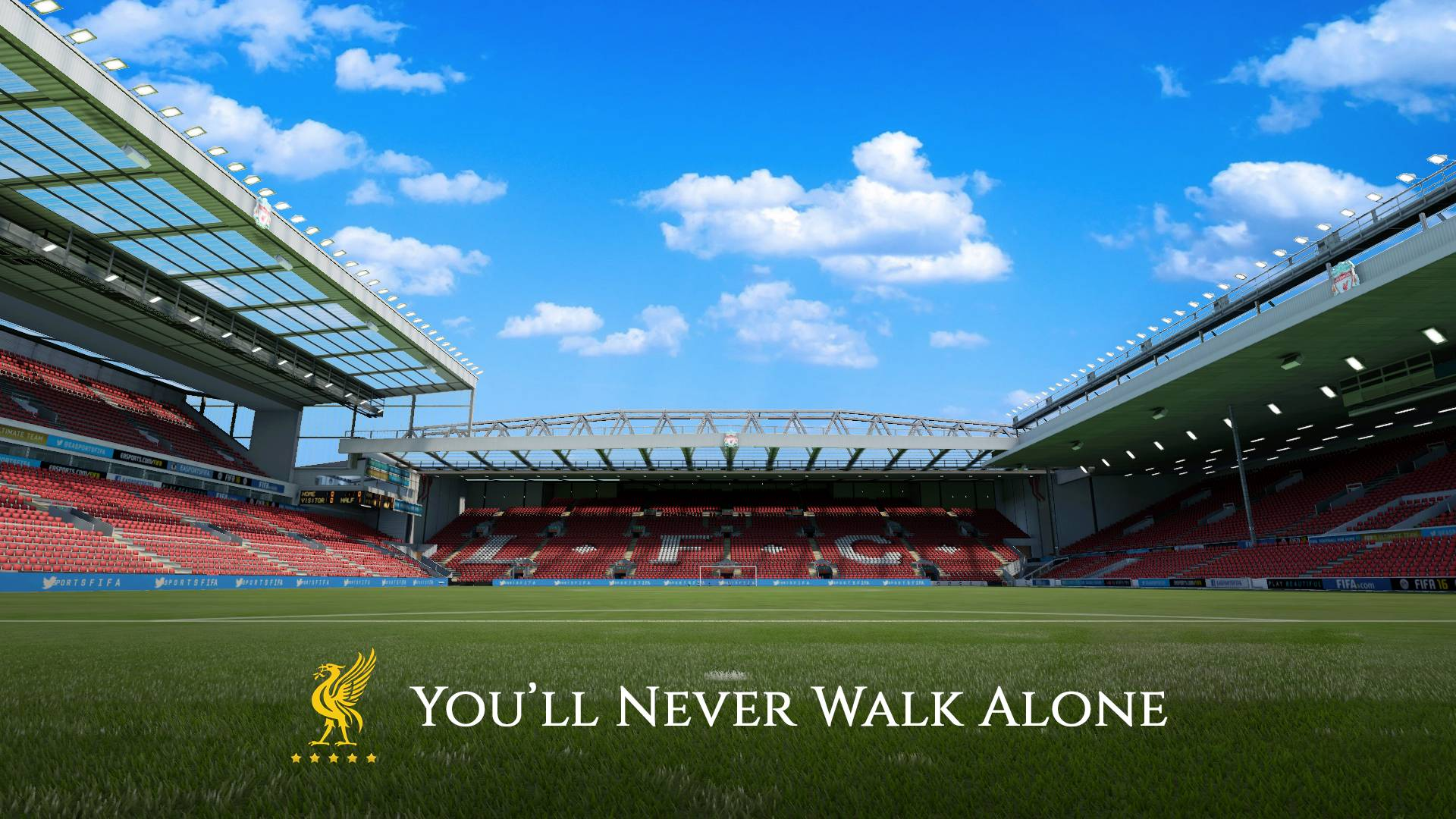 Liverpool Fc S Anfield Stadium Hd Wallpapers For Pc Free Download