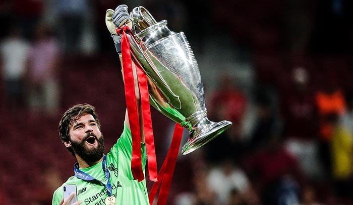 Alisson Becker HD Desktop Wallpapers At Liverpool FC