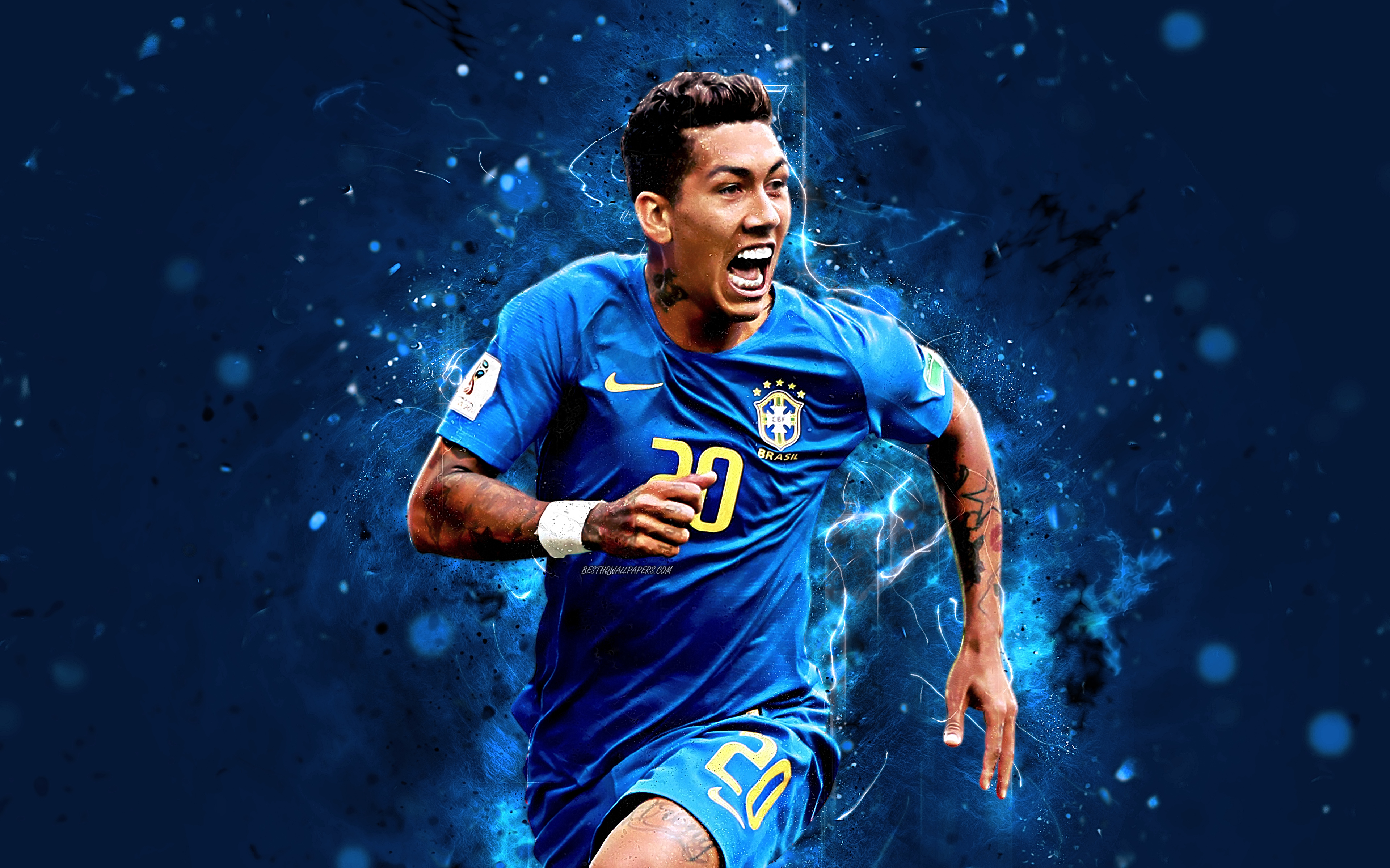 Roberto Firmino HD Desktop Wallpapers At Liverpool FC