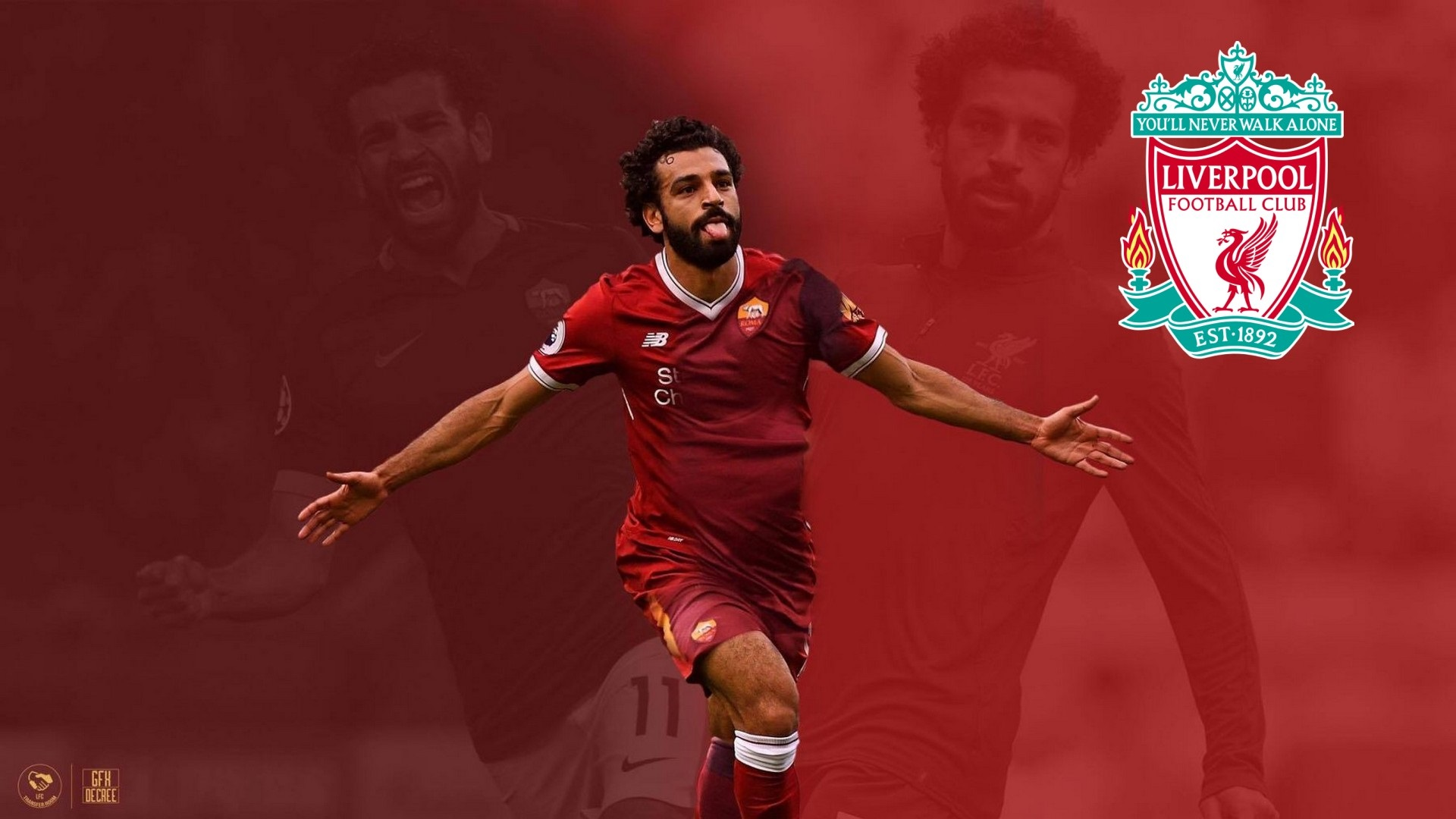 Mohamed Salah HD Desktop Wallpapers At Liverpool FC
