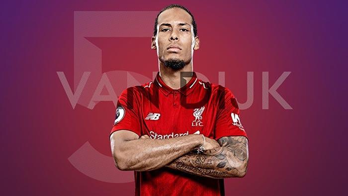 Liverpool 2019 Wallpapers: Virgil Van Dijk HD Desktop Wallpapers At Liverpool FC