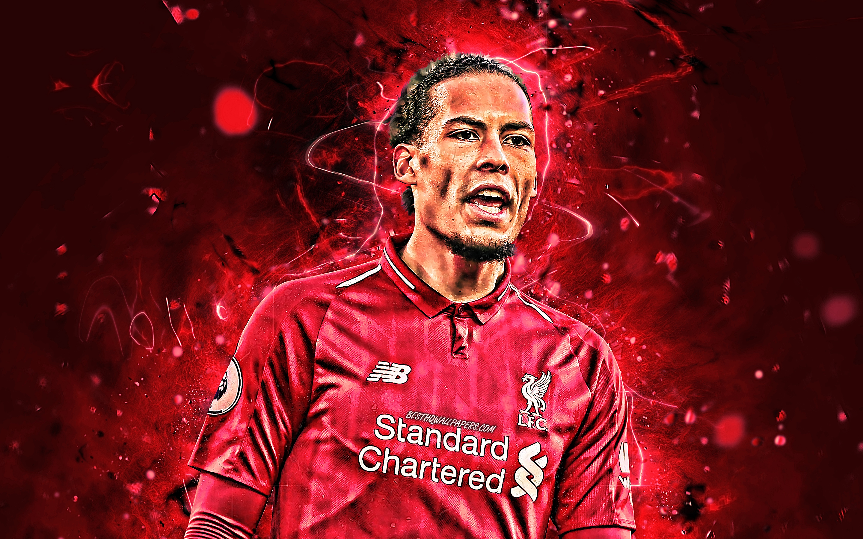 Virgil Van Dijk HD Desktop Wallpapers At Liverpool FC