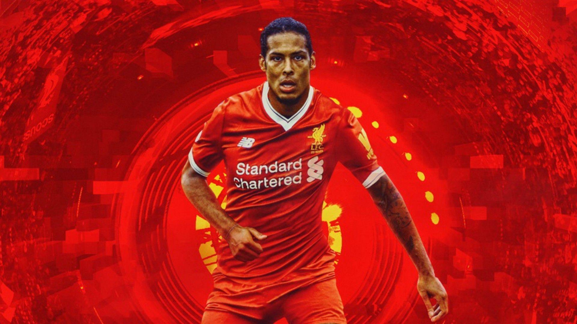 Virgil van Dijk HD Desktop Wallpapers at Liverpool FC ...