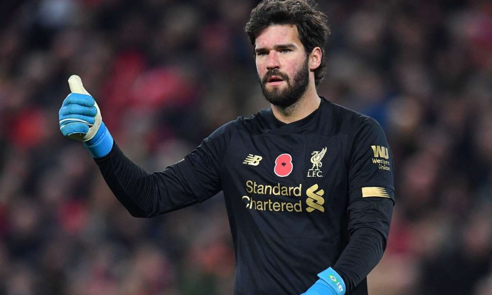Alisson Becker Recovers From Hip Injury