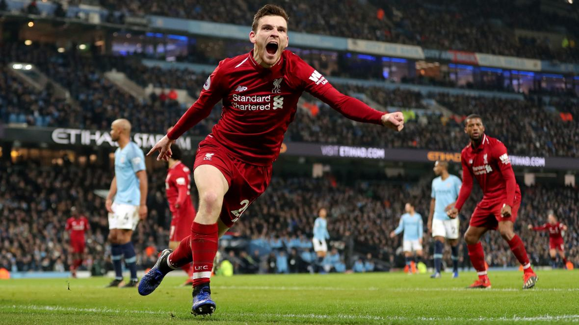Andrew Robertson 'best Left-back In Europe' Says Newcastle