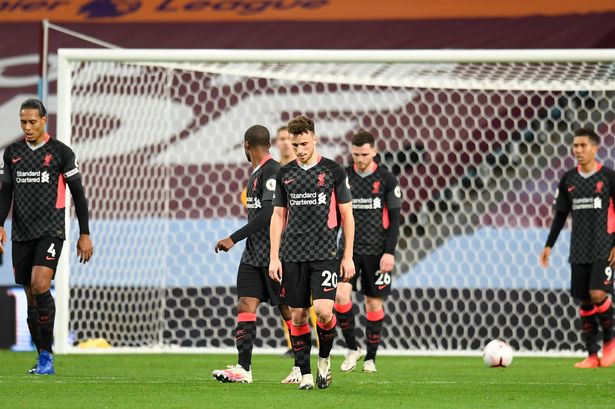 Aston Villa 7 2 Liverpool Match Report Premier League 20 21