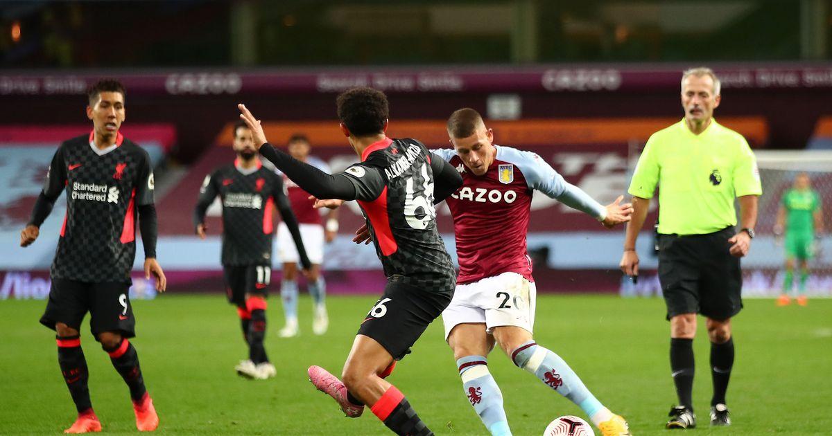 Virgil Van Dijk Admits To Liverpool Being Second Best To Aston Villa On Sunday